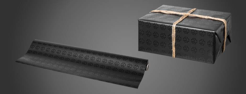 """Logo"" Rammstein wrapping paper"