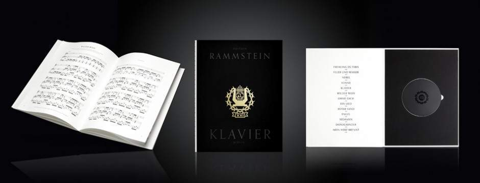 """XXI - music book KLAVIER"" - incl. CD"