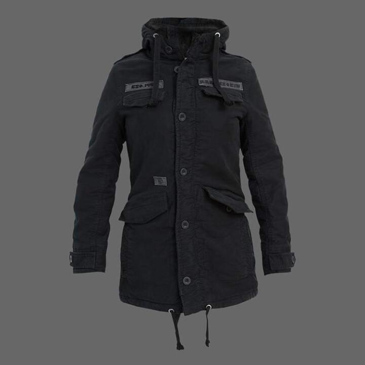 women s rammstein winter jacket rammstein shop. Black Bedroom Furniture Sets. Home Design Ideas