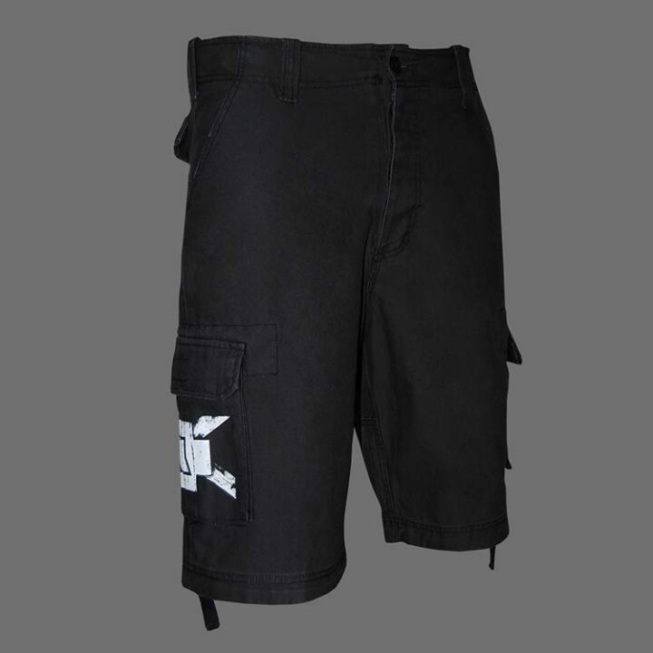rammstein vintage shorts weisses kreuz rammstein shop. Black Bedroom Furniture Sets. Home Design Ideas