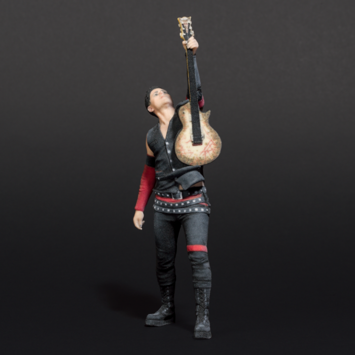 3d Figurine Richard Z Kruspe Live Rammstein Shop