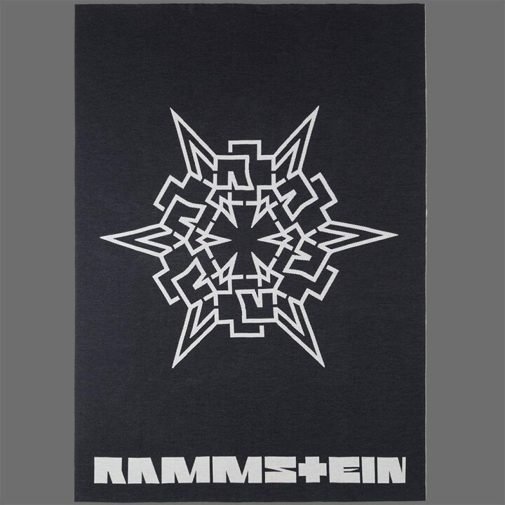 rammstein blanket stern rammstein shop. Black Bedroom Furniture Sets. Home Design Ideas