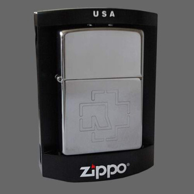 high polished rammstein logo zippo lighter rammstein shop