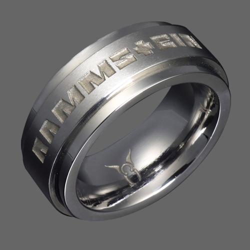 Stainless Steel Rammstein Ring Rammstein Shop