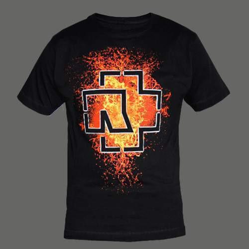 men s lava logo rammstein t shirt rammstein shop. Black Bedroom Furniture Sets. Home Design Ideas