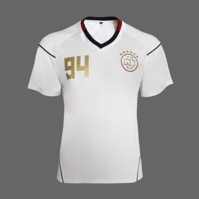 "check out 88c22 ae175 Soccer Shirt ""RAMMSTEIN"" *white*"