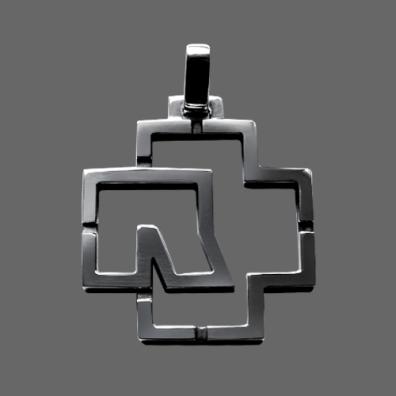 "Rammstein Anhänger ""Outline Logo"" (925 er Sterling Silber)"