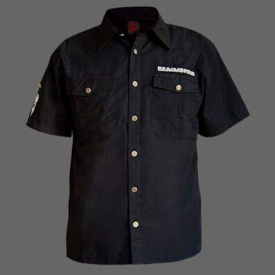 dirt cheap factory outlet cheap RAMMSTEIN Hemd -mit kurzem Arm